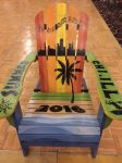 Hand Painted Summer Chi.ill Chair